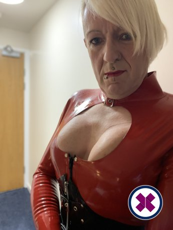 Latex Submissive TS is a hot and horny English Escort from Westminster